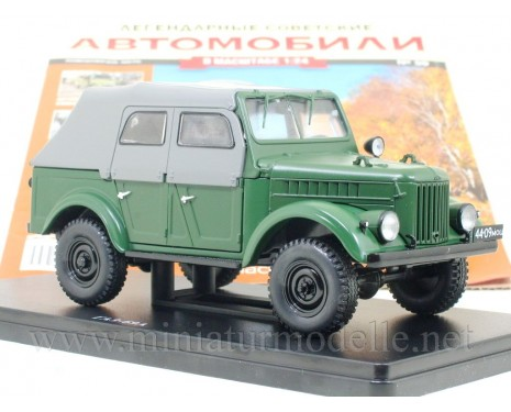 1:24 GAZ 69 A military with magazine #59