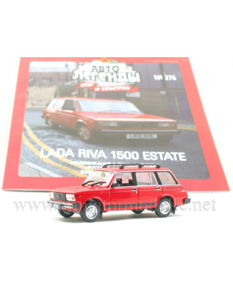 1:43 LADA Riva 1500 Estate with magazine #276