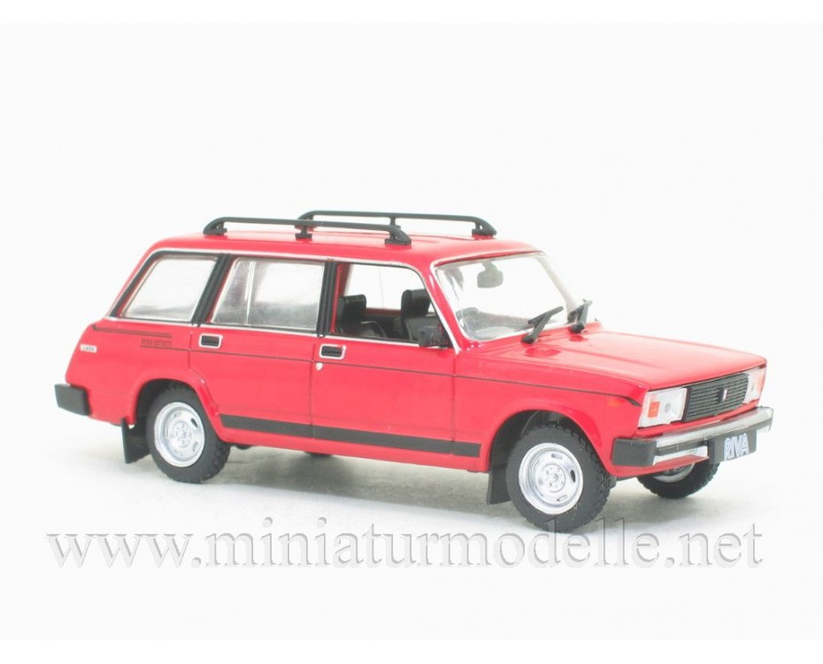 1:43 LADA Riva 1500 Estate with magazine #276,  De Agostini by www.miniaturmodelle.net