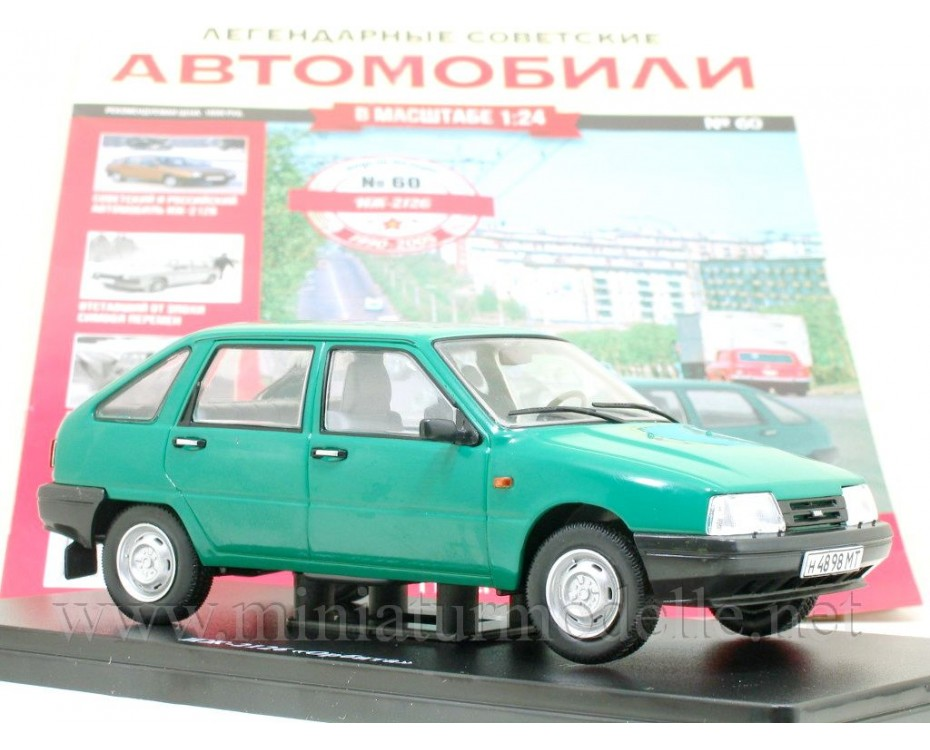 1:24 Moskvitch IZh 2126 Orbita with magazine #60,  Hachette by www.miniaturmodelle.net