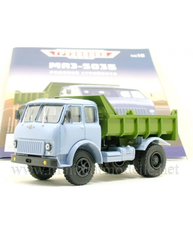 1:43 MAZ 503 B Dump with magazine #18