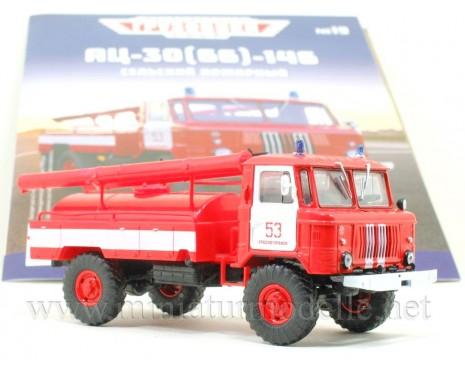 1:43 GAZ 66 Fire engine AC 30 with magazine #19