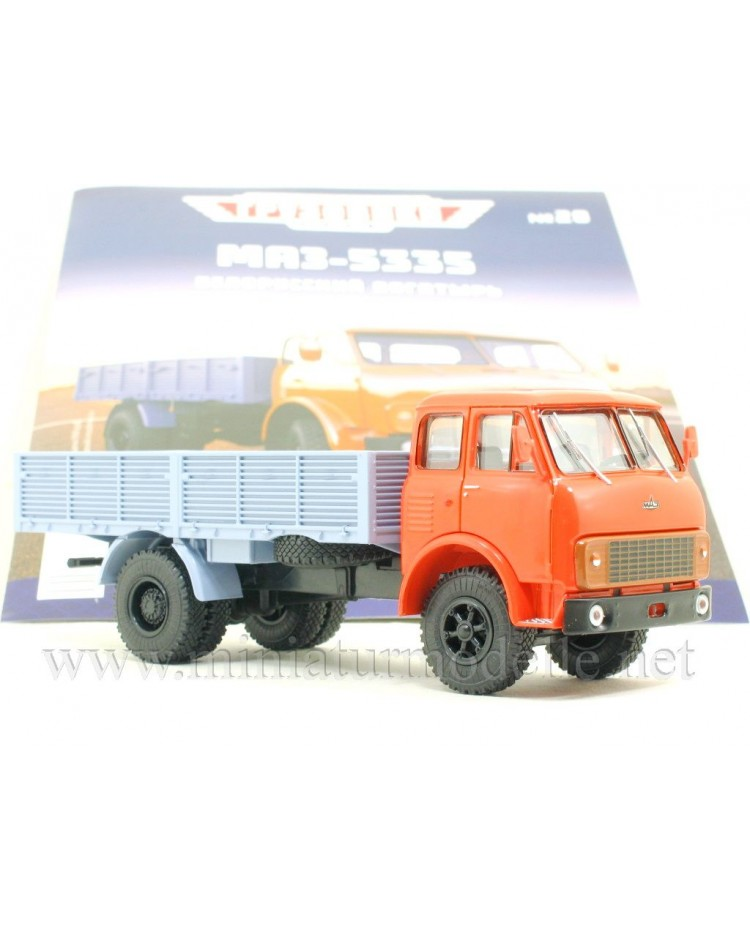 1:43 MAZ 5335 load platform with magazine #20