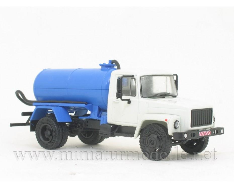 1:43 GAZ 3307 vacum truck KO-503 with magazine #21,  Modimio Collections by www.miniaturmodelle.net