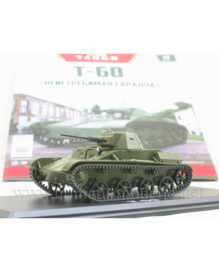 1:43 T 60 light tank magazine #38