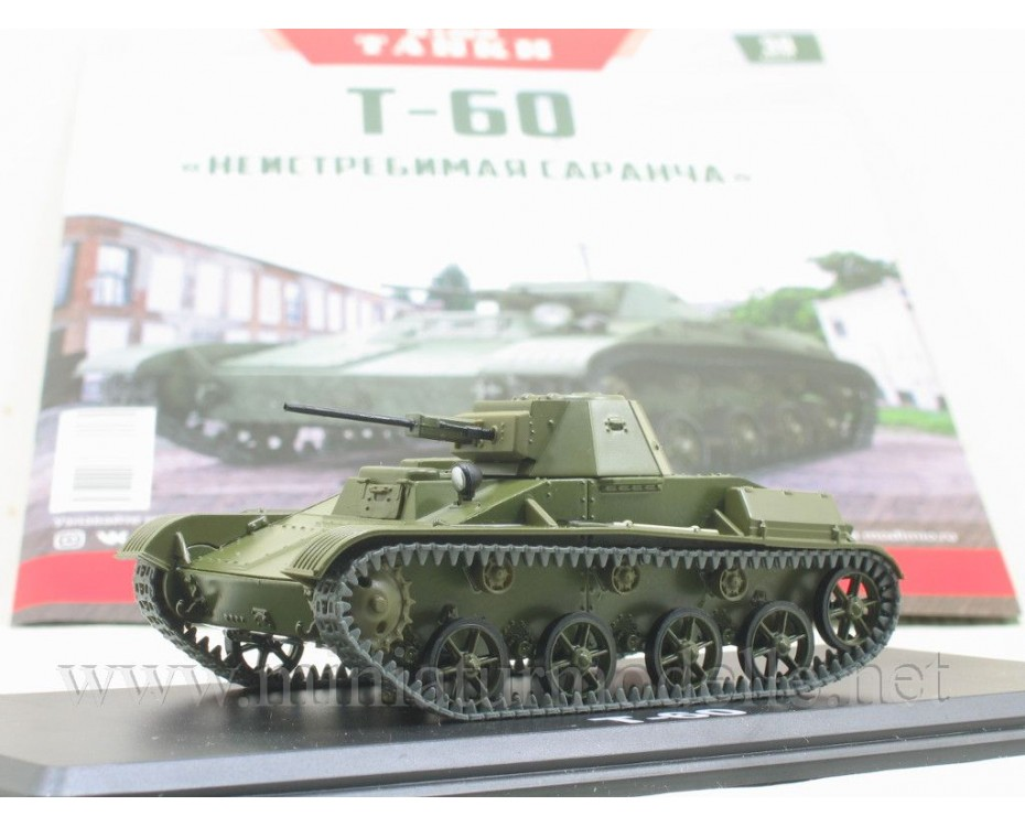 1:43 T 60 light tank magazine #38,  Modimio Collections by www.miniaturmodelle.net