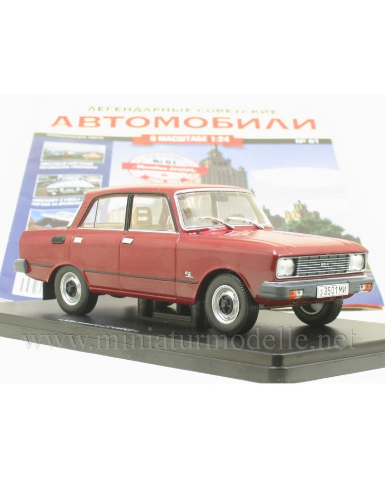 1:24 Moskvitch 2140 SL with magazine #61