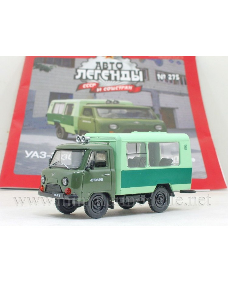 1:43 UAZ 3303 T12.02 bus Kubanets with magazine #275