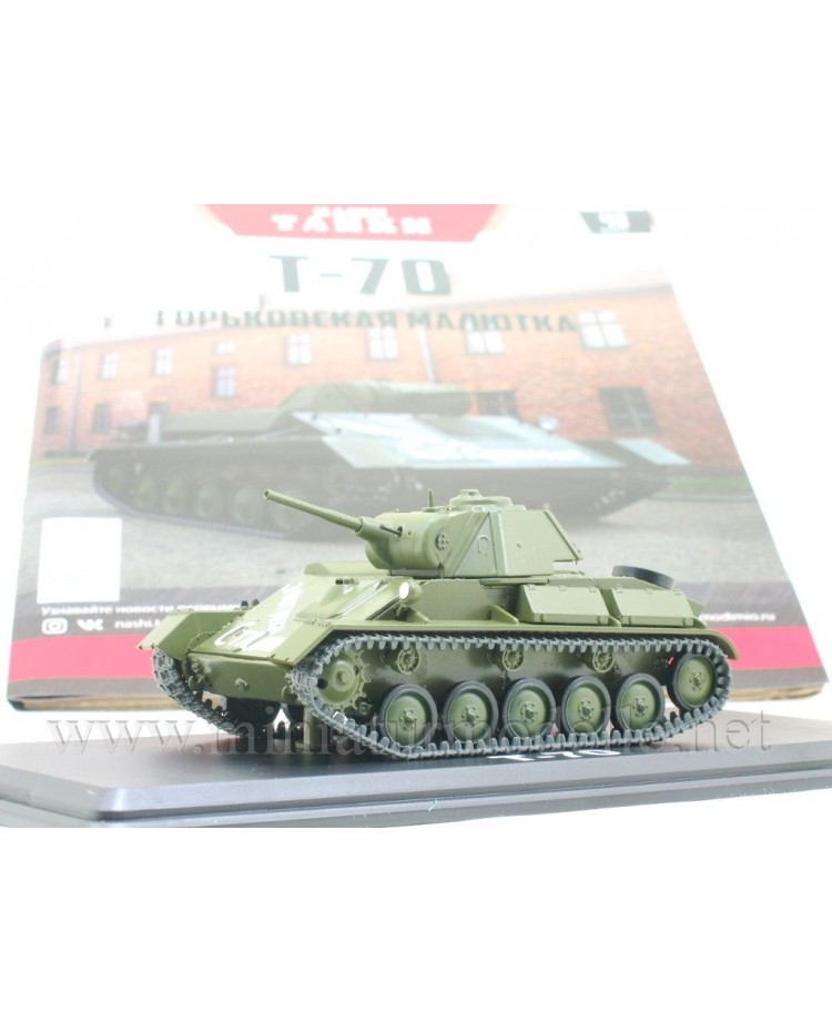 1:43 T 70 light tank with magazine #42