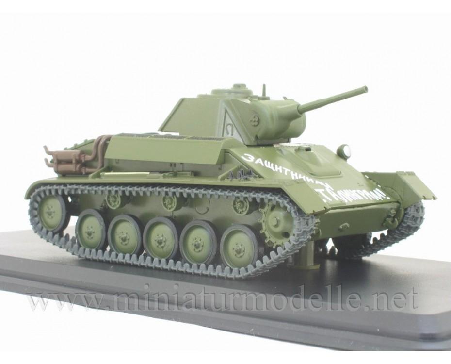 1:43 T 70 light tank with magazine #42,  Modimio Collections by www.miniaturmodelle.net