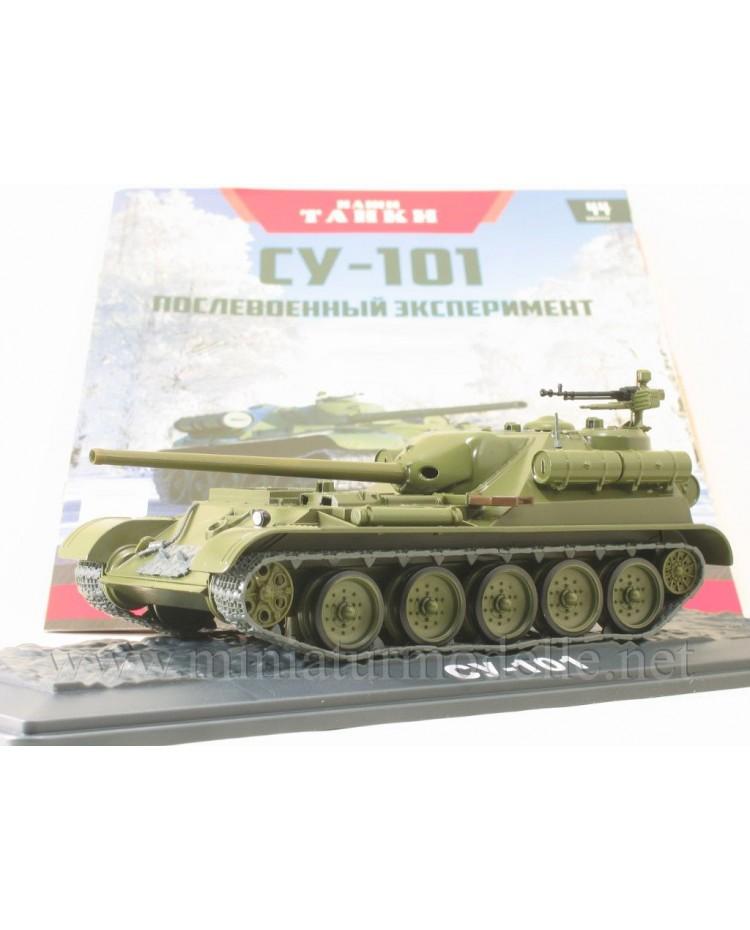 1:43 SU 101 Soviet tank destroyer with magazine #44