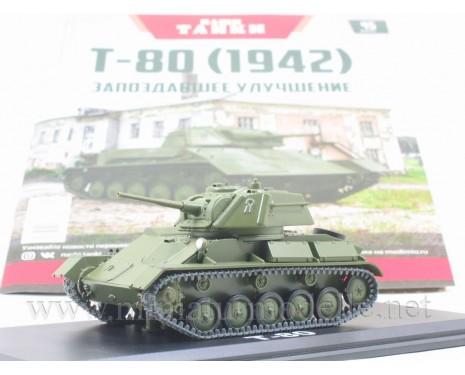 1:43 T 80 (1942) light tank with magazine #45
