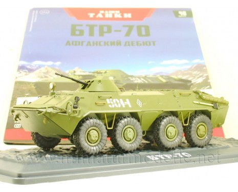 1:43 BTR 70 Soviet armored personnel carrier with magazine #46