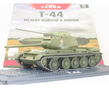 1:43 T 44 Soviet medium tank with magazine #47