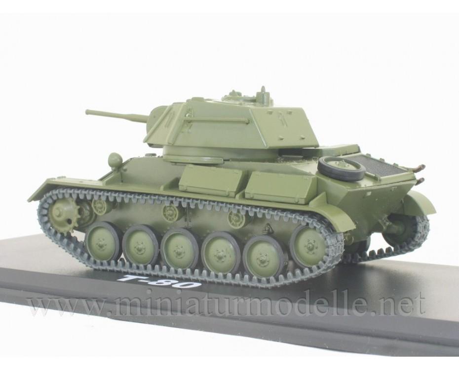 1:43 T 80 (1942) light tank with magazine #45,  Modimio Collections by www.miniaturmodelle.net