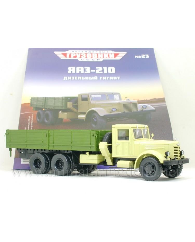 1:43 YaAZ 210 load platform with magazine #23