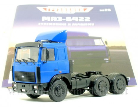 1:43 MAZ 64221 tractor unit with magazine #26