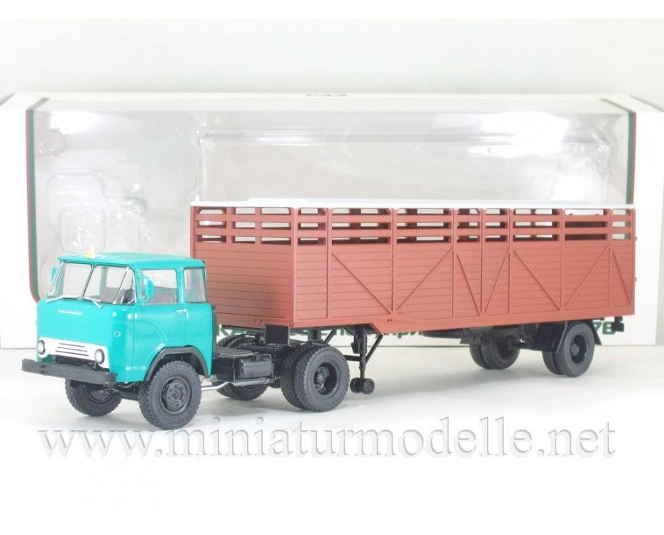 1:43 KAZ 608 box semi OdAZ 857 B, 102583, Auto History - Aist by www.miniaturmodelle.net
