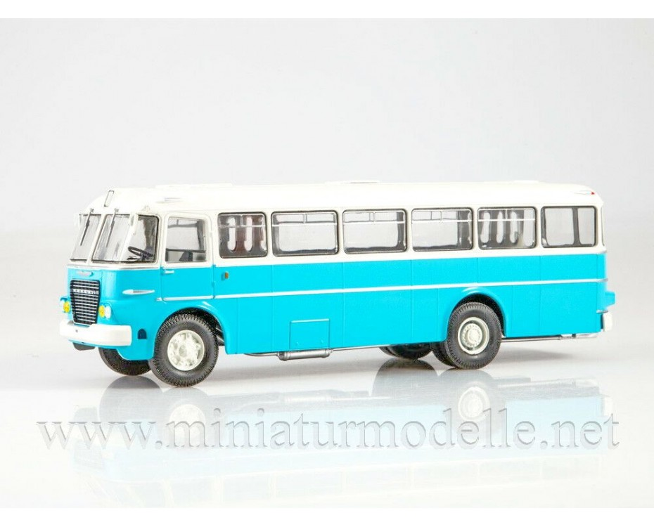 1:43 Ikarus 620 bus with magazine #13,  Modimio Collections by www.miniaturmodelle.net