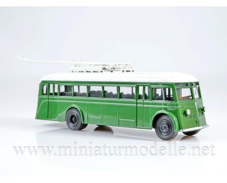 1:43 YaTB 1 Trolleybus with magazine #14,  Modimio Collections by www.miniaturmodelle.net