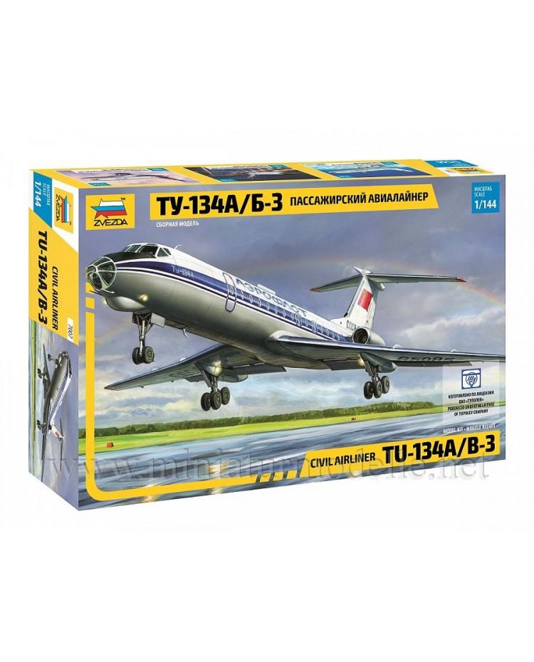 1:144 TU 134 A/B-3 civil airliner, kit