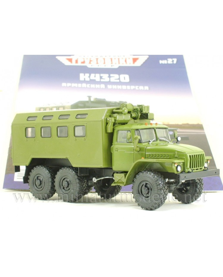 1:43 URAL 4320 box K4320 military with magazine #27