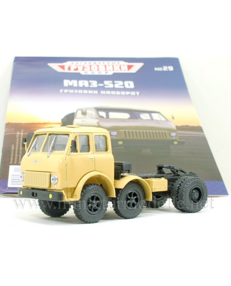 1:43 MAZ 520 tractor unit with magazine #29