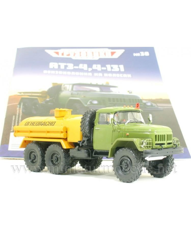 1:43 ZIL 131 tank truck ATZ 4,4 with magazine #30