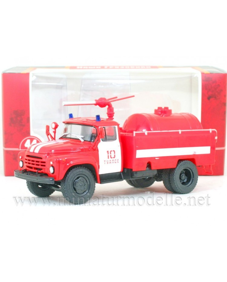 1:43 ZIL 130 dry powder fire fighting truck AP-3-148A
