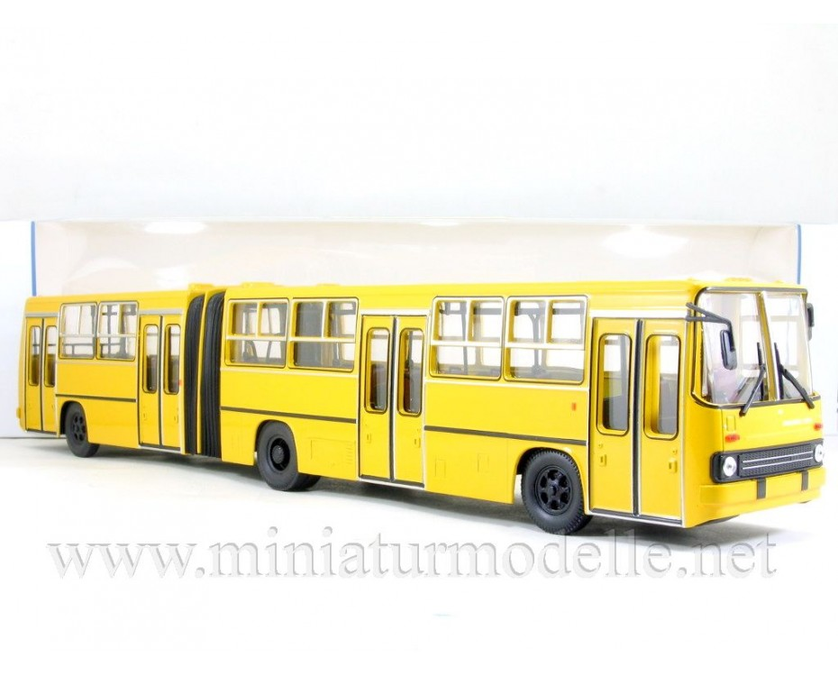 1:43 IKARUS 280.64 Bus yellow, 900261, Soviet Bus - SOVA by www.miniaturmodelle.net