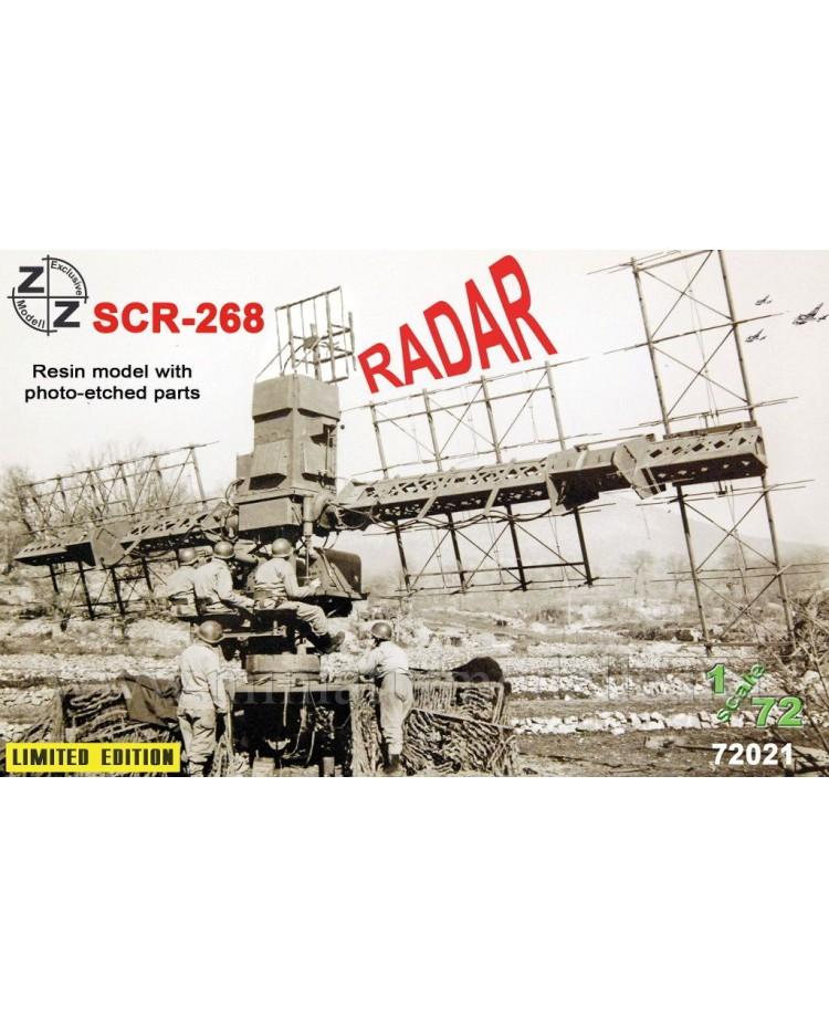 1:72 SCR 268 Radar, small batches kit