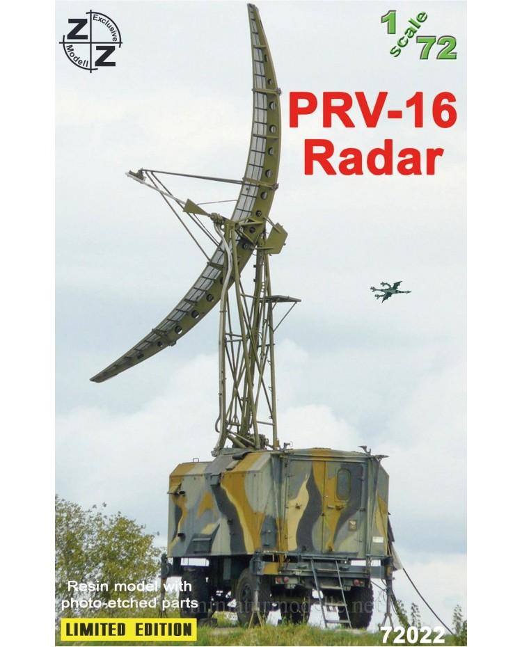 1:72 PRV 16 Radar, small batches kit