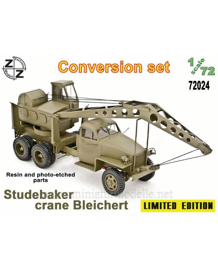 1:72 Studebaker Crane Bleichert, small batches conversion kit