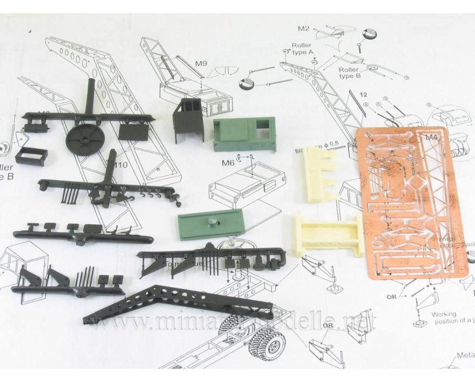 H0 1:87 ZIS 5 V Crane Bleichert, small batches conversion kit, C87105, Z&Z Exclusive Modell by www.miniaturmodelle.net
