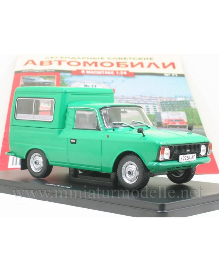 1:24 Moskvitch Iz 27156 with magazine #71