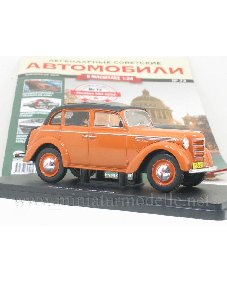 1:24 Moskvitch 400 - 420 A with magazine #72