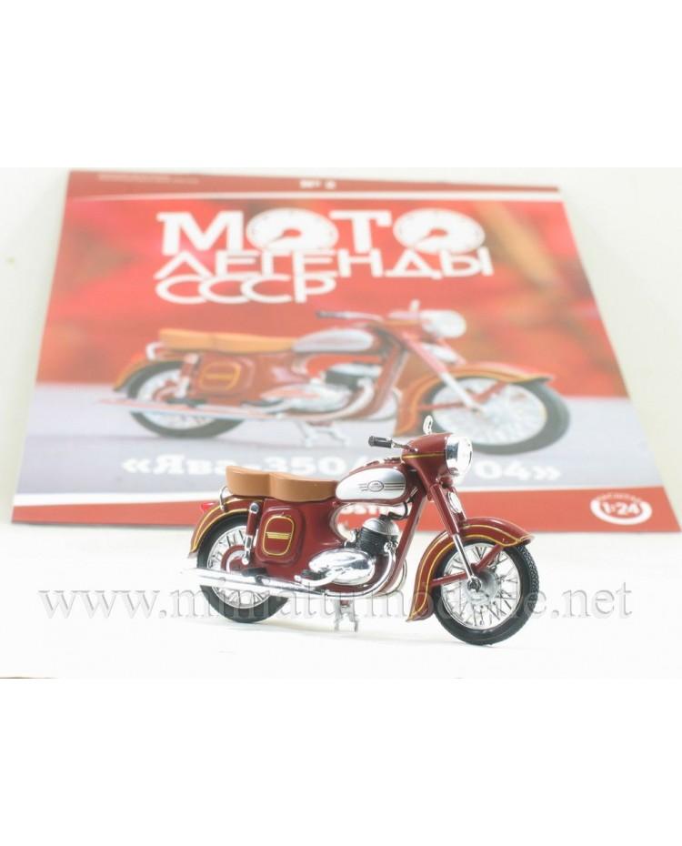 1:24 Jawa 350 / 354-04 Motorcycle with magazine #2