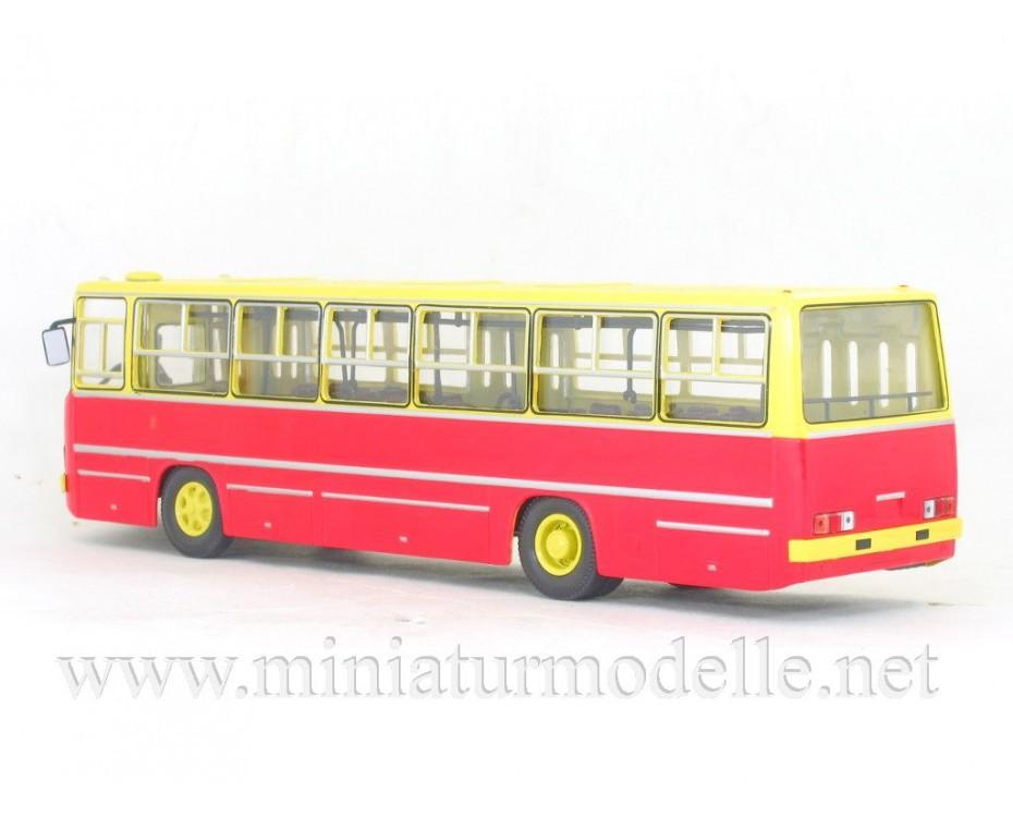 1:43 IKARUS 260 Bus yellow - red, 900179, Soviet Bus - SOVA by www.miniaturmodelle.net