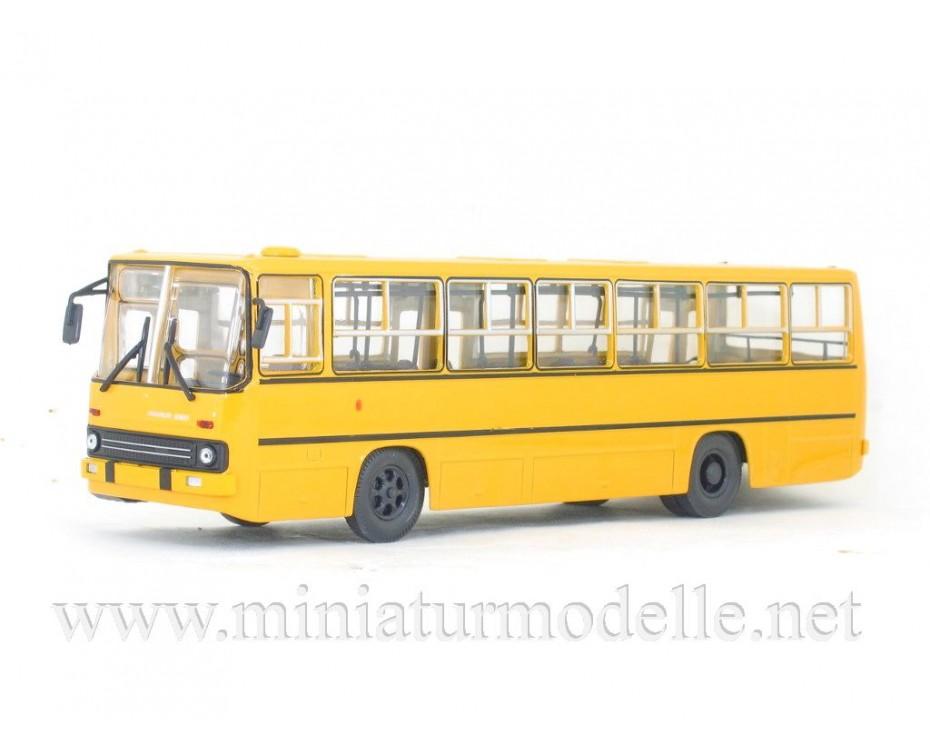 1:43 IKARUS 260 Bus with wide doors yellow, 900209, Soviet Bus - SOVA by www.miniaturmodelle.net