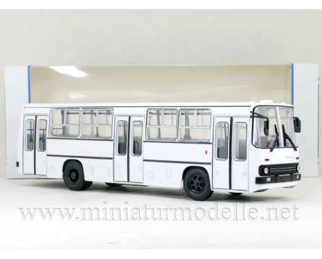 1:43 IKARUS 260 Bus with wide doors white