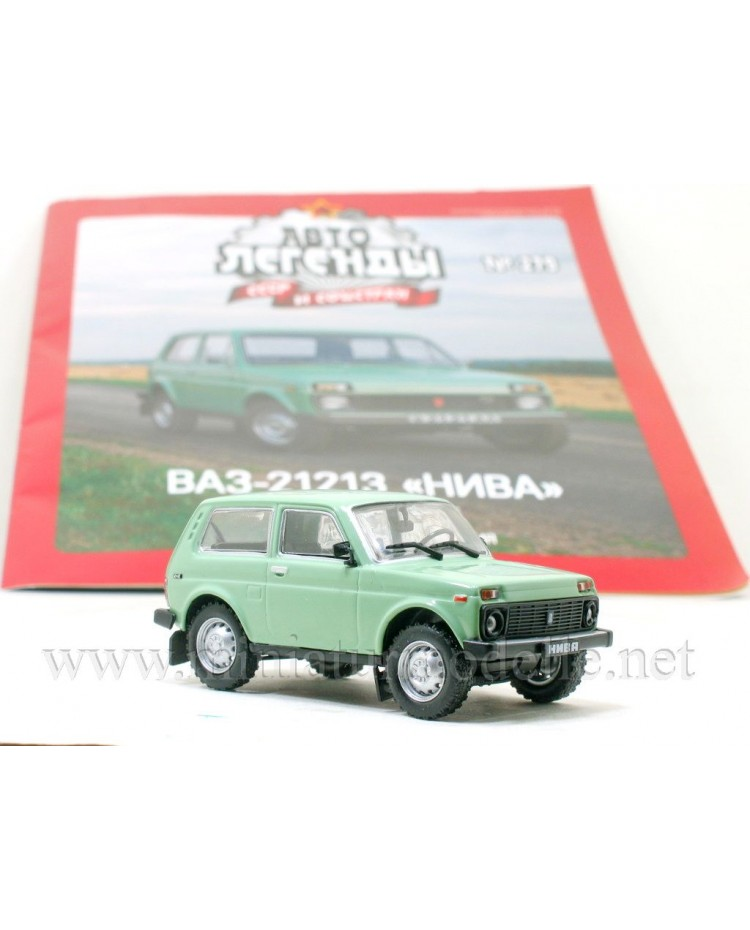 1:43 VAZ 21213 Niva Lada with magazine #279