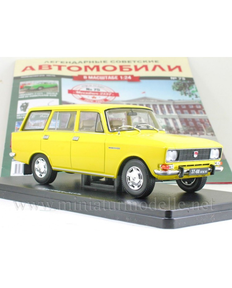 1:24 Moskvitch 2137 with magazine #75