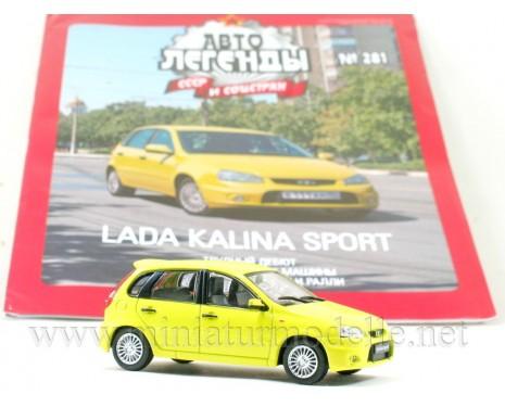 1:43 Lada Kalina Sport VAZ 1119 with magazine #281