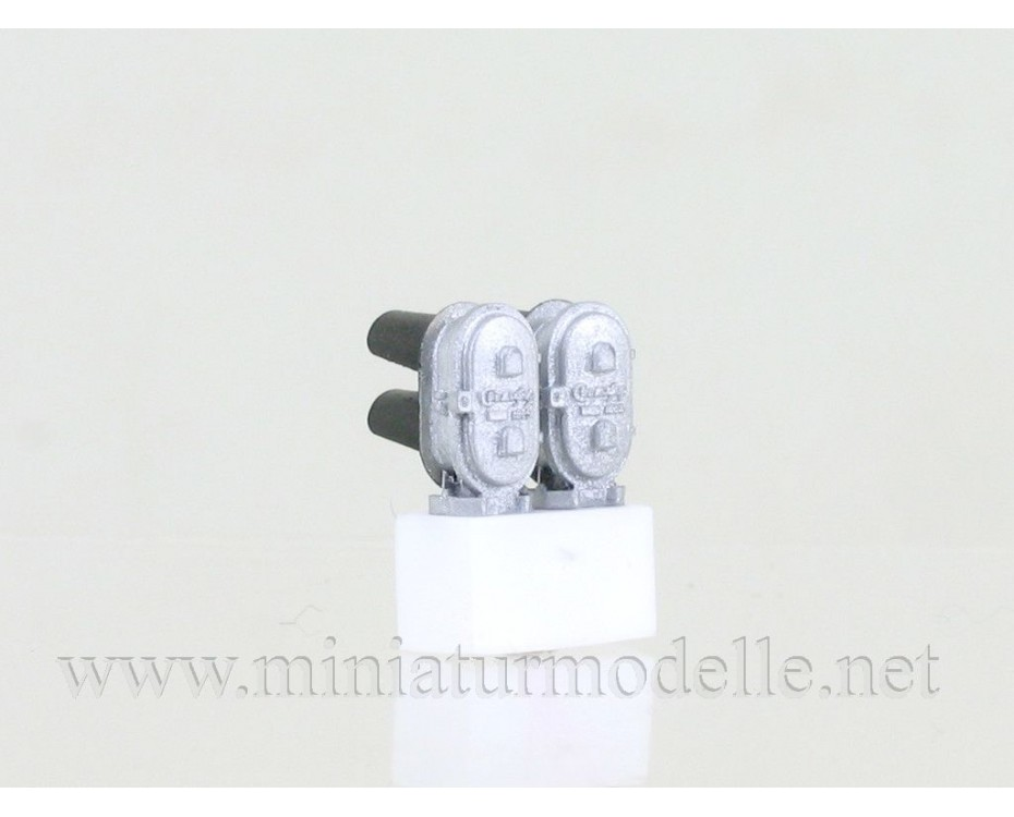1:87 H0 Colour Light Departure Signal lower type (Type 2-2),  Svettofor by www.miniaturmodelle.net