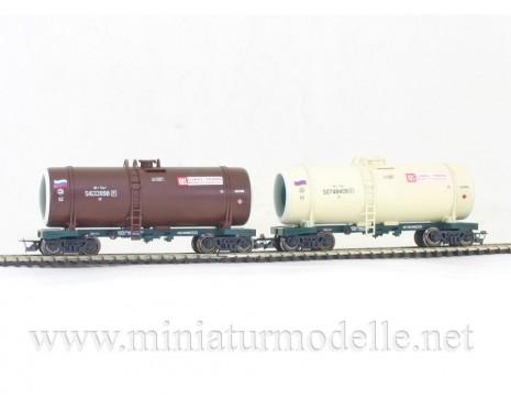 1:120 TT 3707 Lukoil - Trans tank wagon set for petrol transport of the RZD livery, era 5