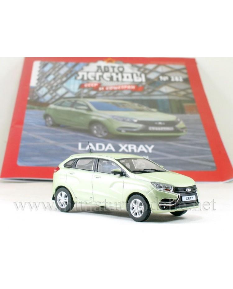1:43 LADA XRAY with magazine #282