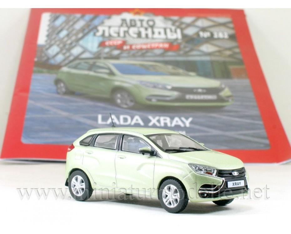 1:43 LADA XRAY with magazine #282,  De Agostini by www.miniaturmodelle.net