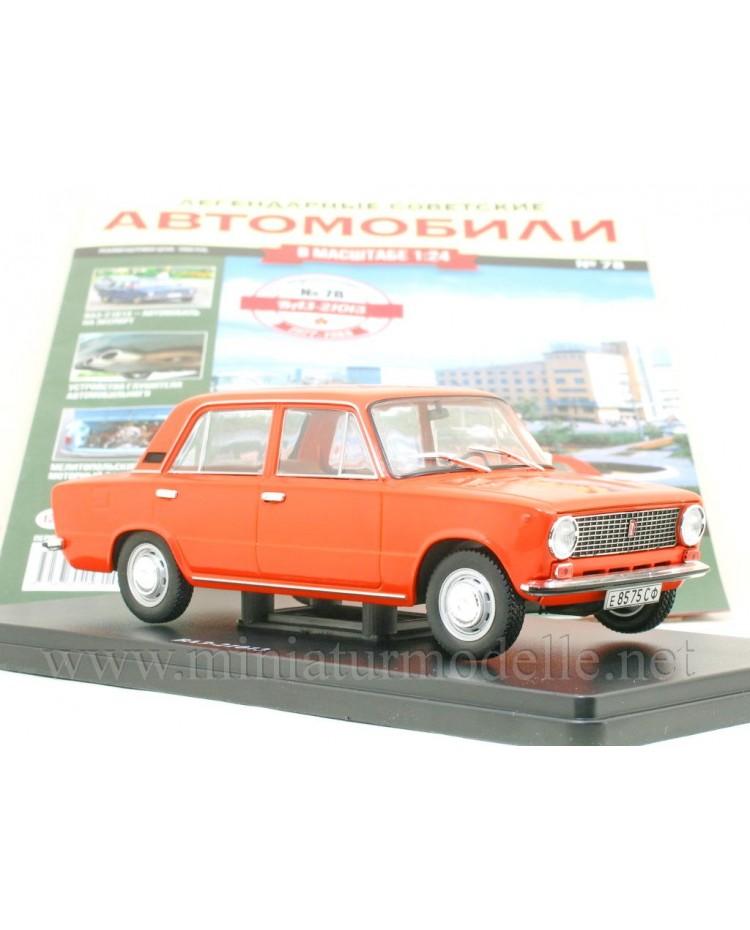 1:24 VAZ 21013 with magazine #78