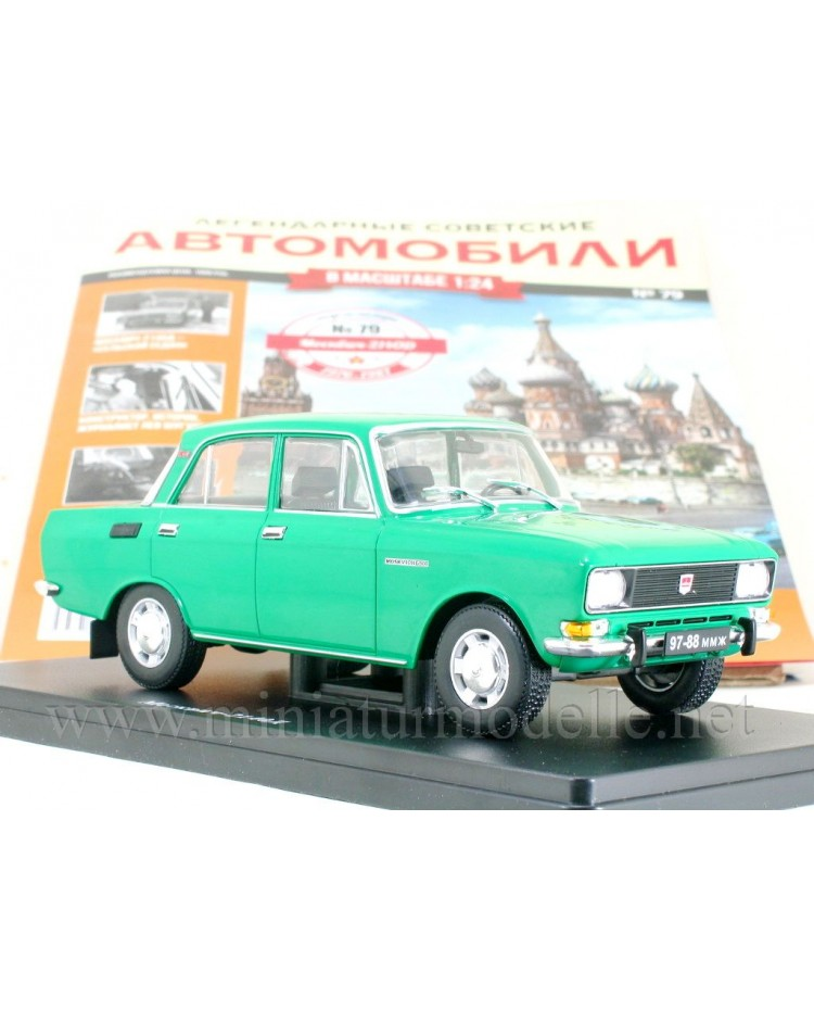 1:24 Moskvitch 2140 D with magazine #79