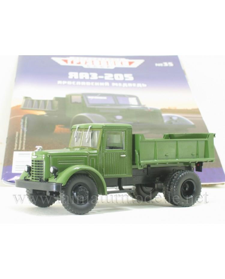 1:43 YaAZ 205 dump military with magazine #35